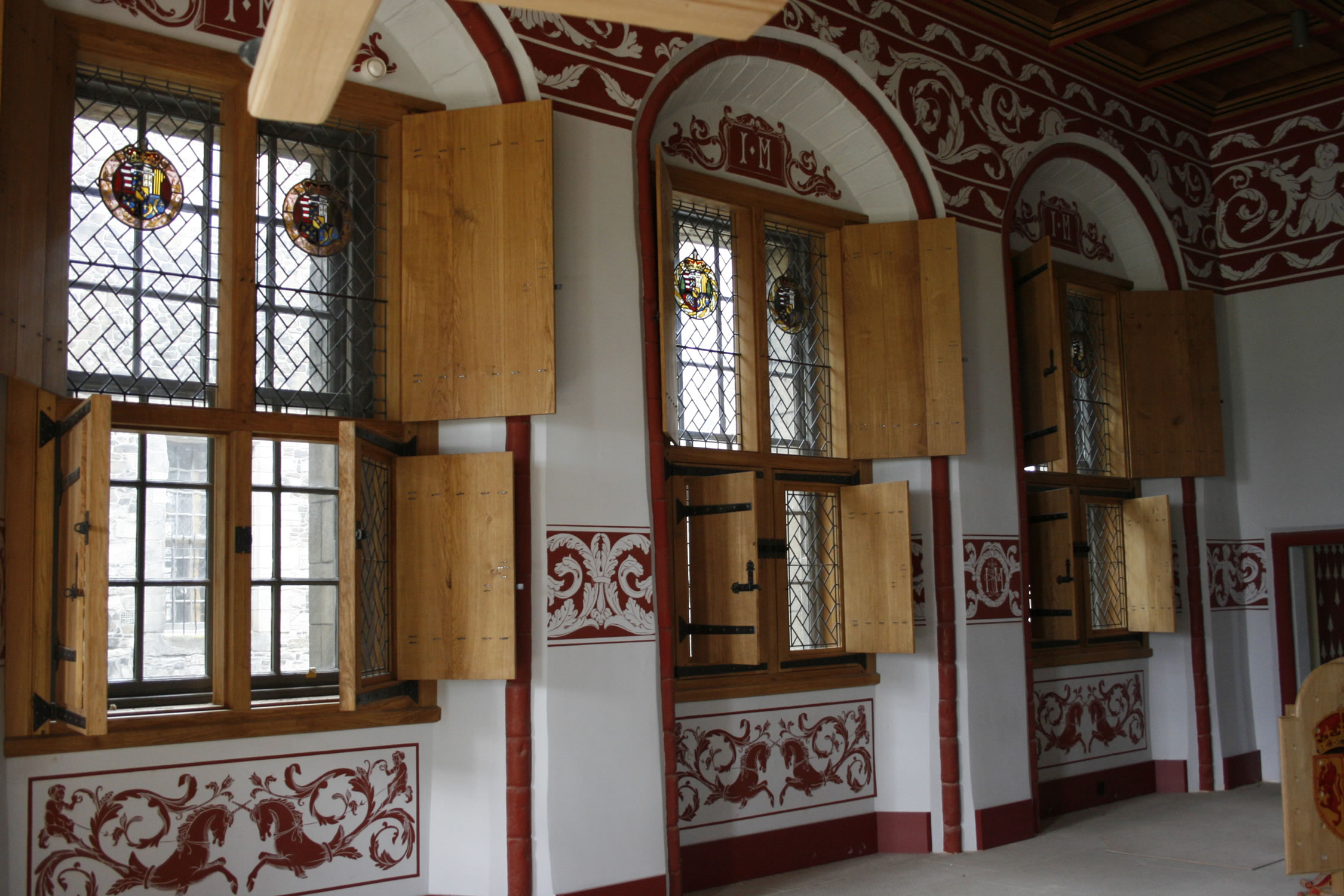 Oak Joinery for the Renaissance Palace at Stirling Castle, Scotland