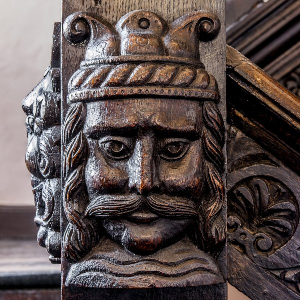 Elizabethan Staircase Detail