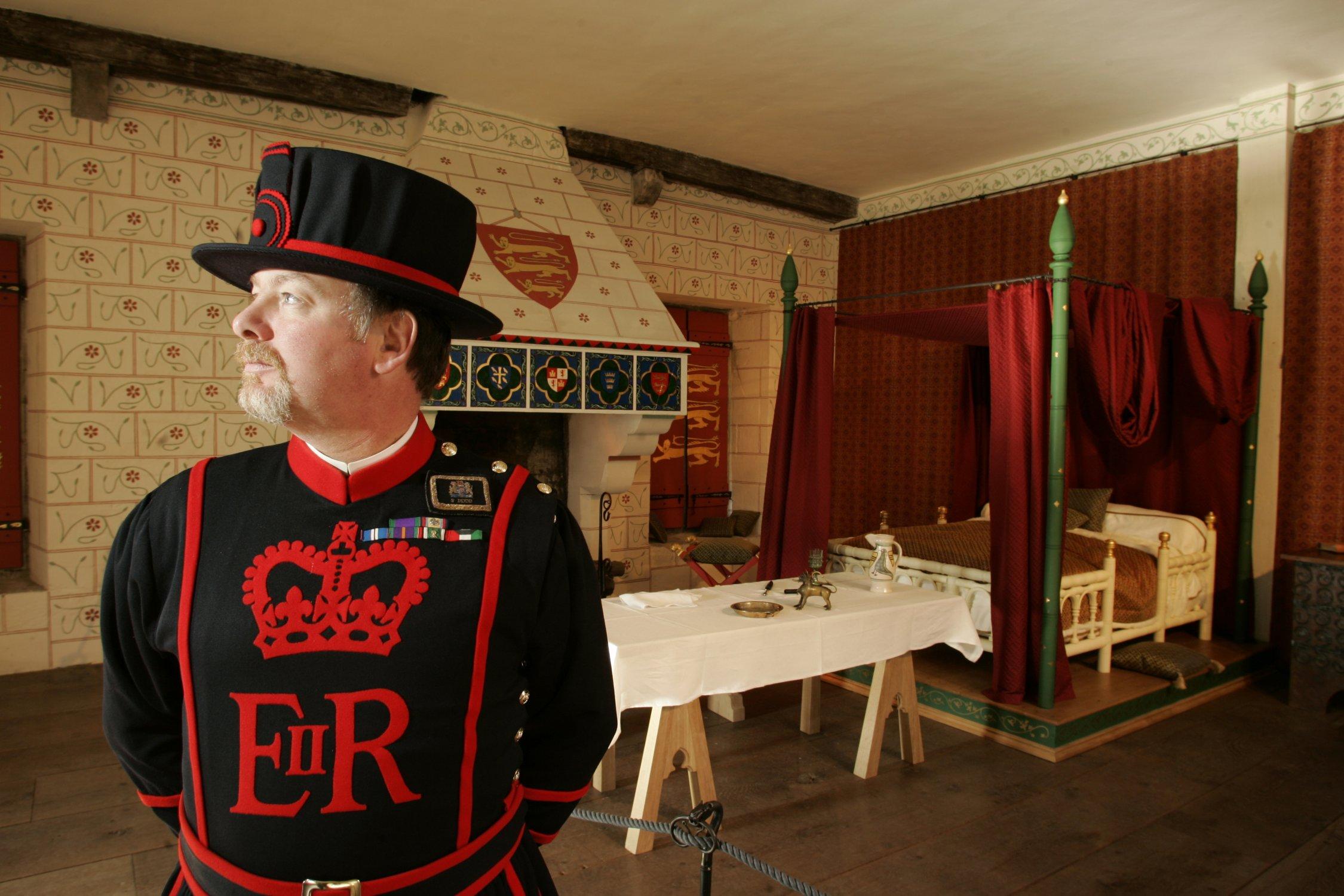 Re-presentation of King Edward I's Medieval Bedchamber
