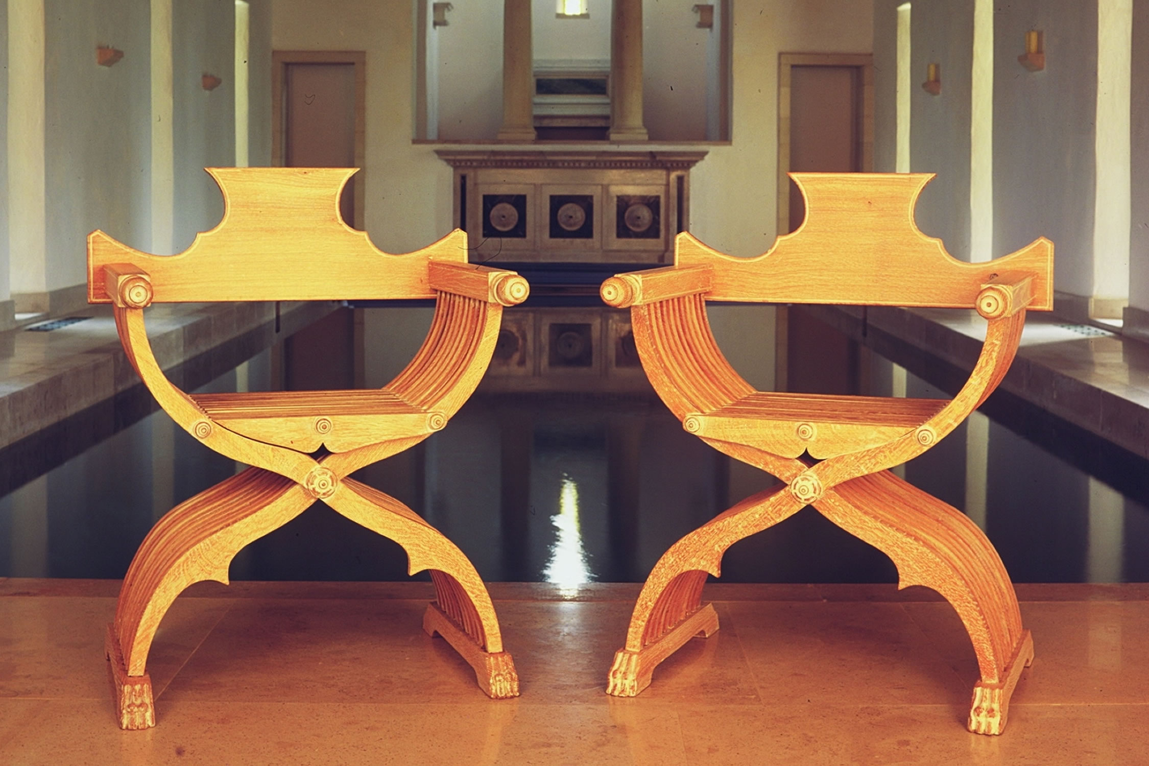 Savonarola X-Frame Chair