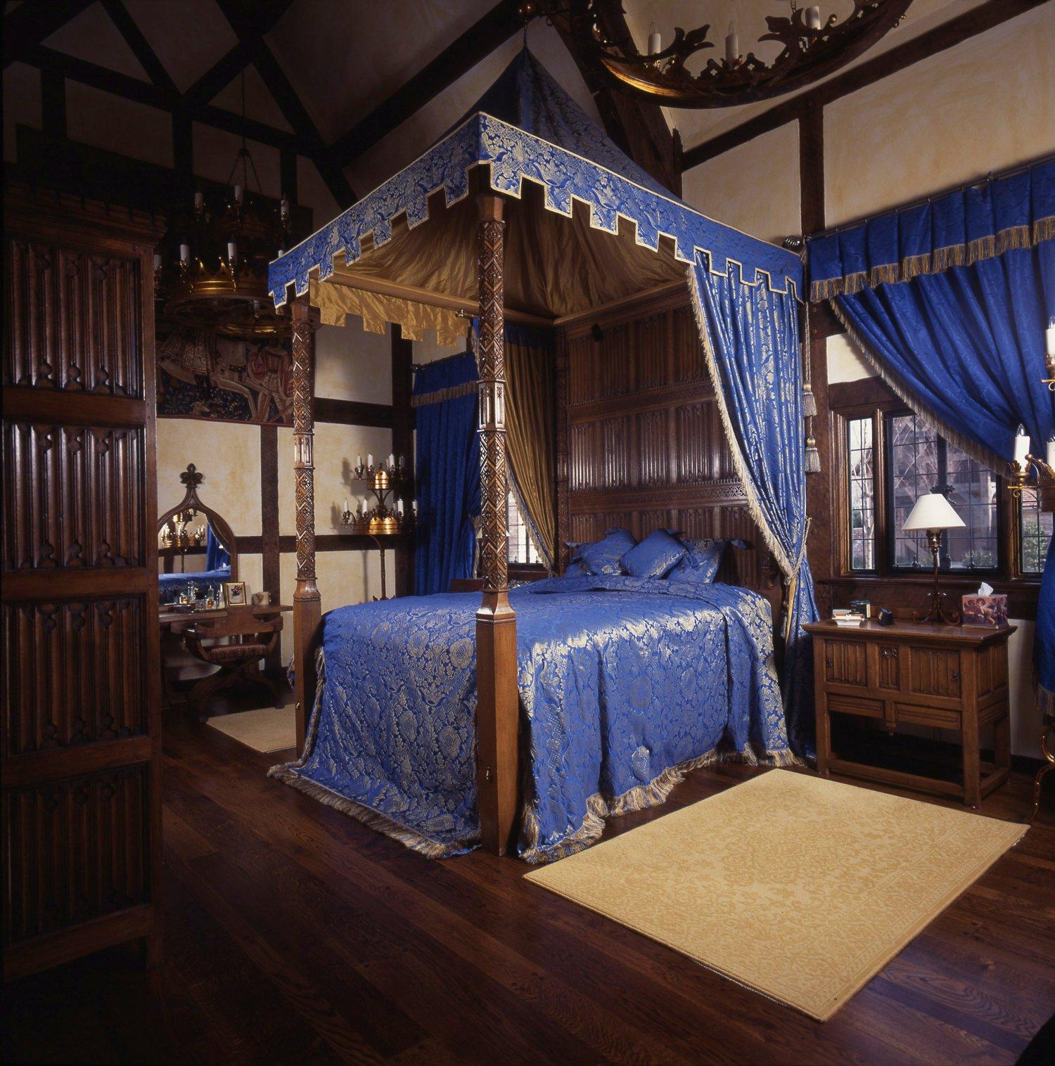 Medieval Tester Bed