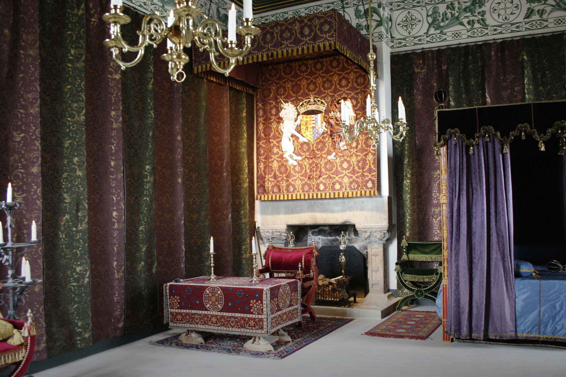 Consultancy, Design & Manufacture for the Renaissance Palace at Stirling Castle, Scotland