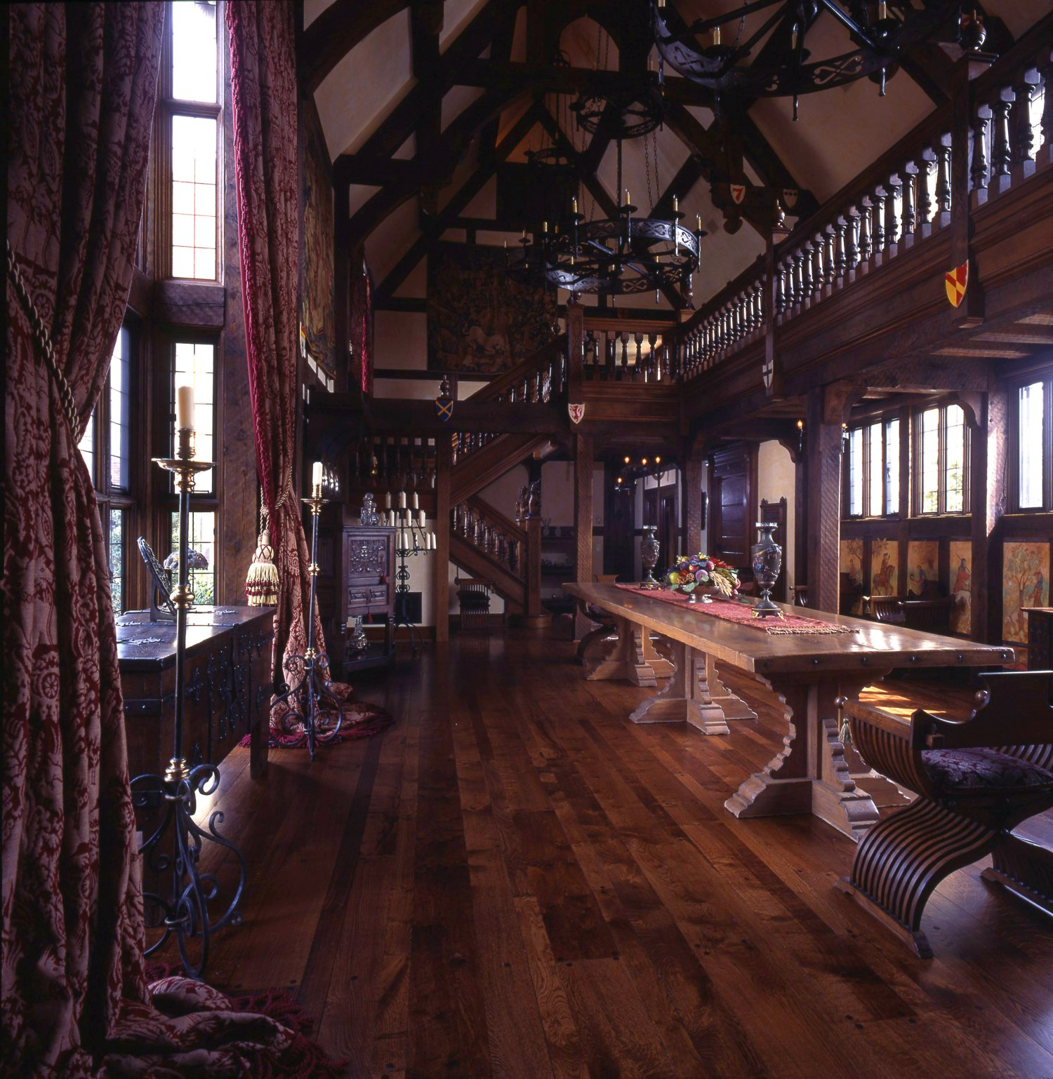 The Great Hall - with gallery above