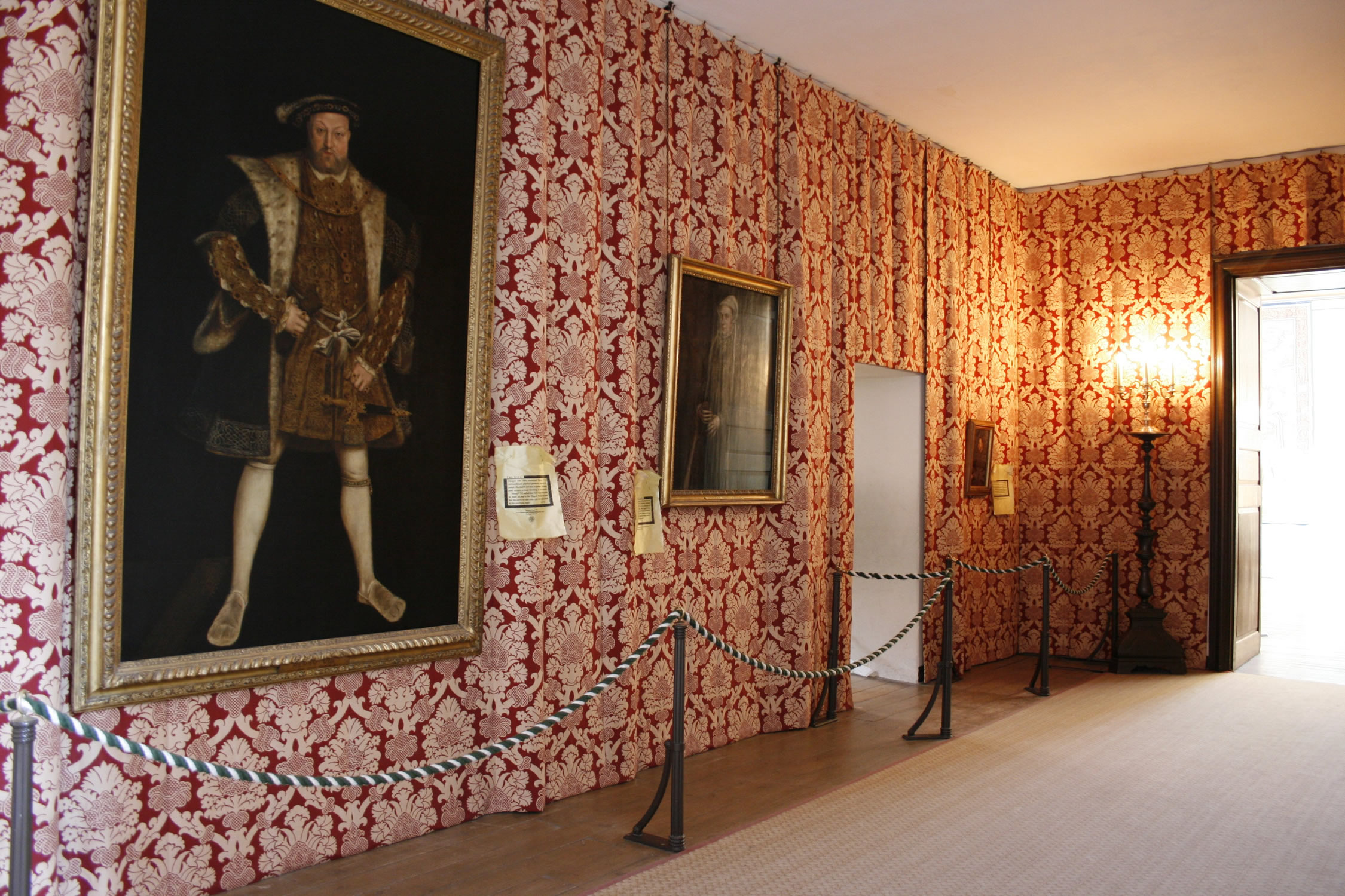 Consultancy, Design & Manufacture of Bespoke Wall Hangings for Hampton Court Palace