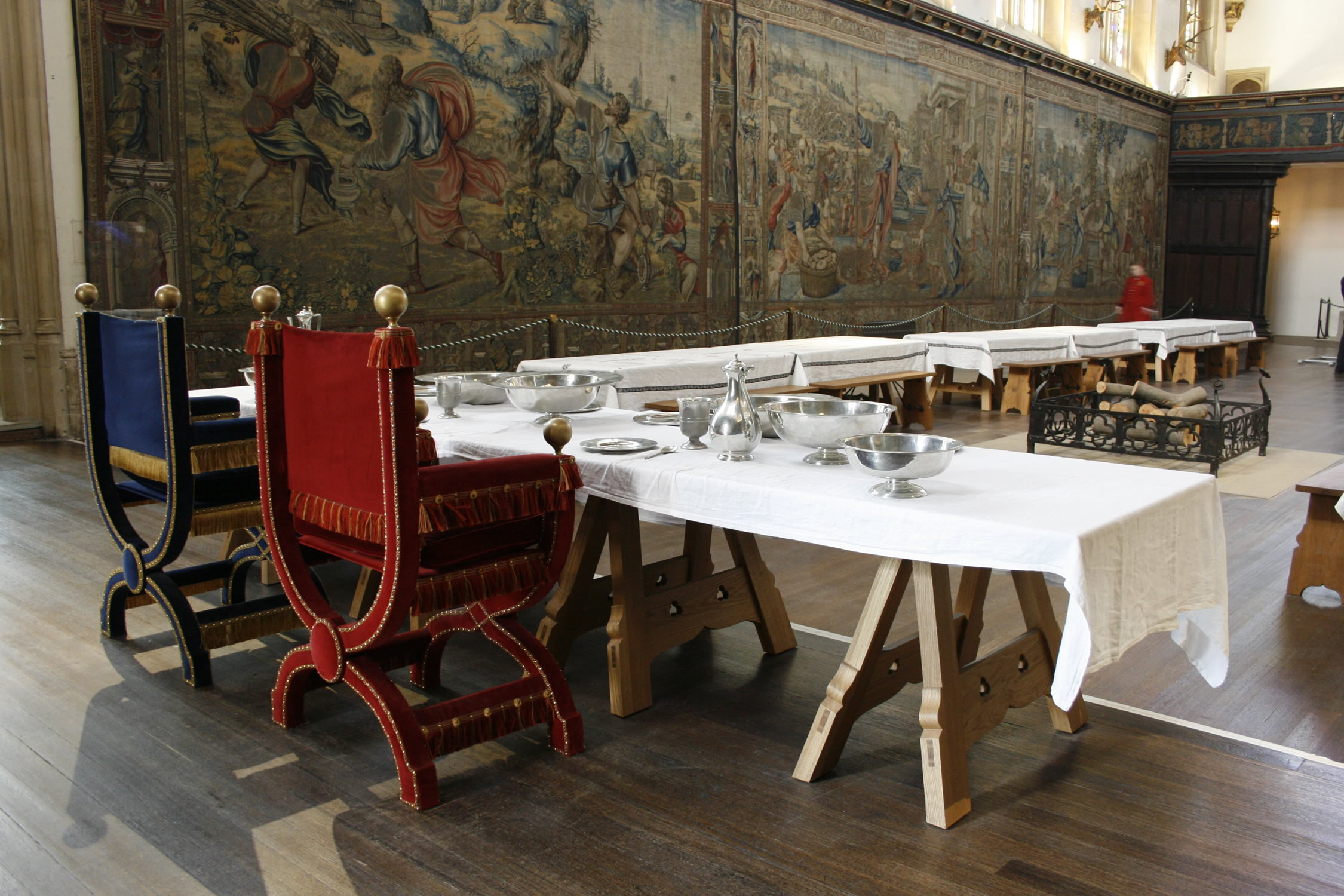 Consultancy, Design & Manufacture for the Great Hall at Hampton Court Palace