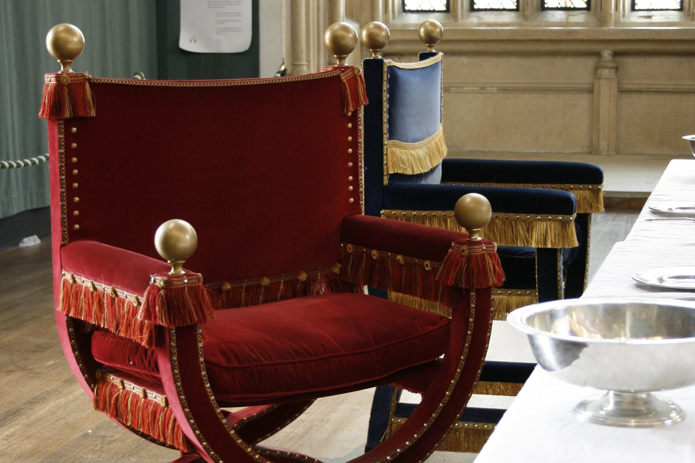 Tudor Furniture for the Great Hall of Hampton Court Palace