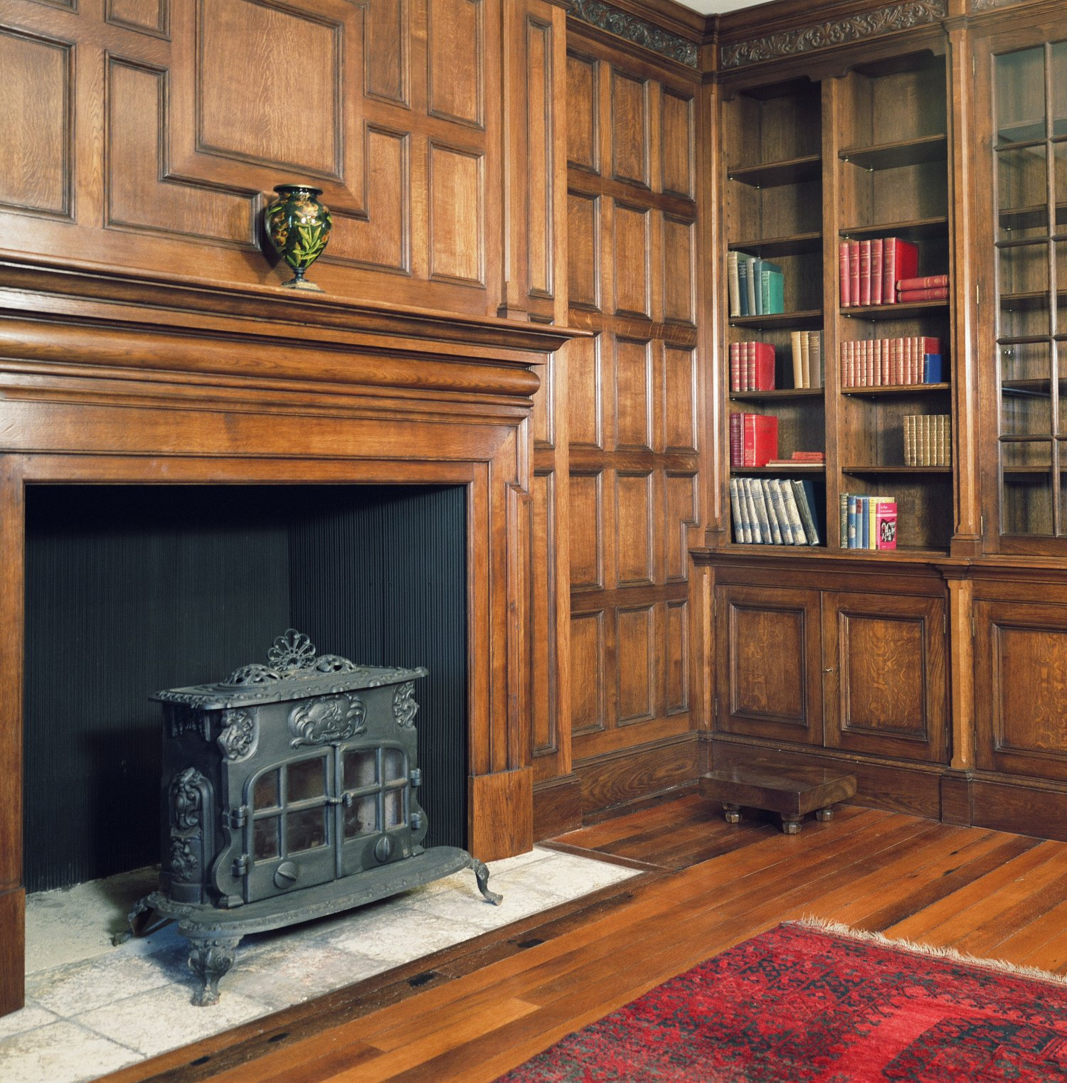 Oak panelled Library