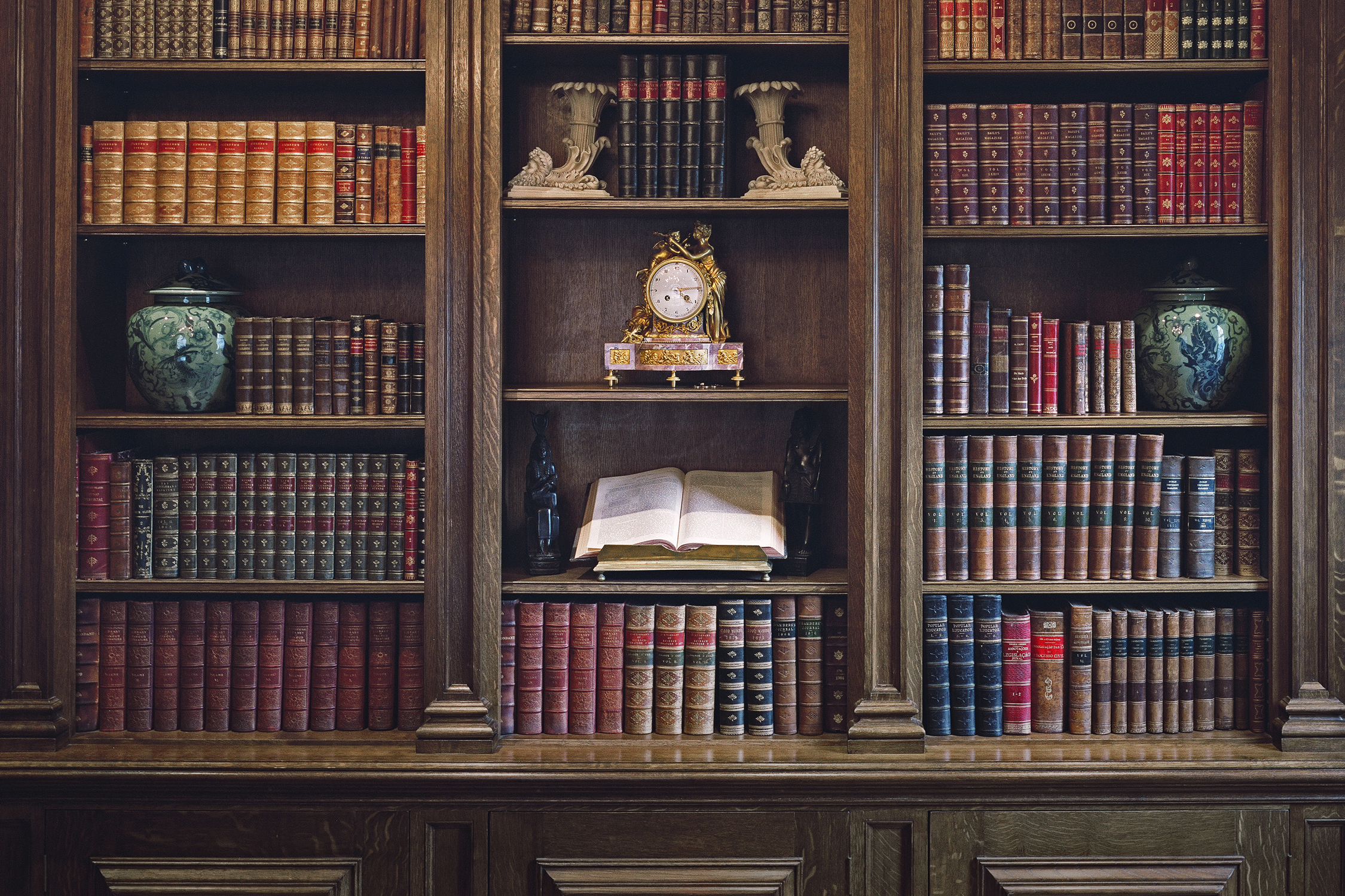 Bespoke Oak Library